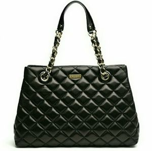 KATE SPADE GOLD COAST MARYANNE QUILTED LEATHER TOT